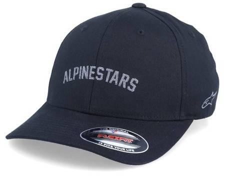 Czapka z daszkiem Alpinestars Judgement Black Flexfit