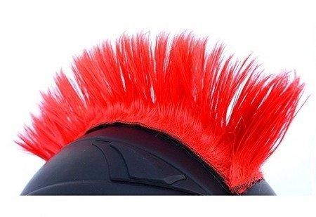 IROKEZ na kask czerwony