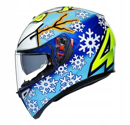Kask AGV K3 SV 2.0 Rossi Winter Test 16