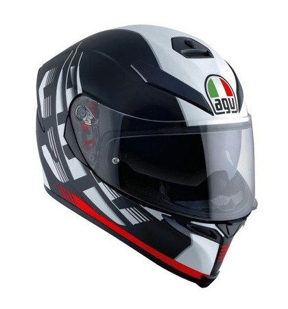 Kask AGV K5 S 2.0 DARKSTORM red matt