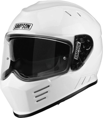 Kask SIMPSON Ghost Bandit Venom white
