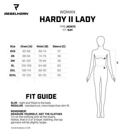 Kurtka REBELHORN Hardy II lady black