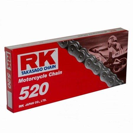 Łańcuch napędowy RK 520 110 ogniw otwarty z zapinką klipsem