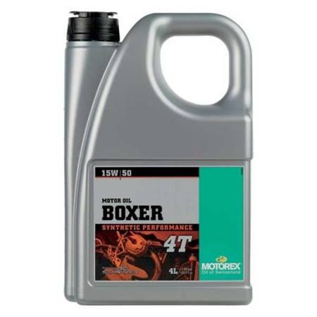 Olej silnikowy MOTOREX Boxer 4T 15W/50 4L