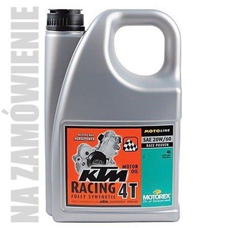 Olej silnikowy MOTOREX KTM RACING 4T 20W/60  4L