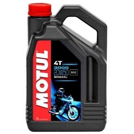Olej silnikowy MOTUL 3000 20W50 4L