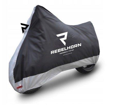 Pokrowiec na motocykl REBELHORN Cover II - wodoodporny rozmiar M