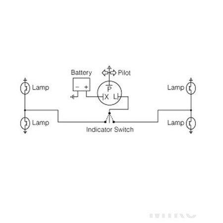 Przerywacz kierunkowskazów 12V 1-2x21W 3 konektory