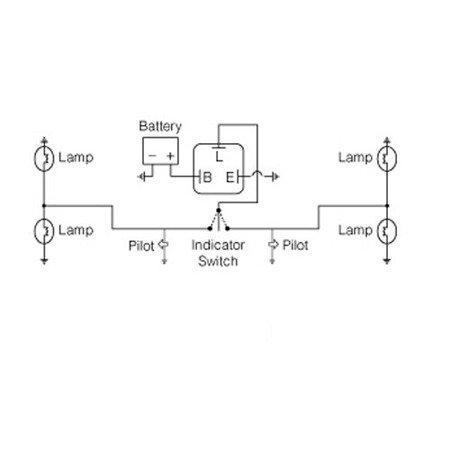 Przerywacz kierunkowskazów LED 12V 0.01-130W 3 konektory