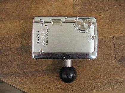 RAM MOUNTS mocowanie do aparatu lub kamery z ¼ calowym gwintem