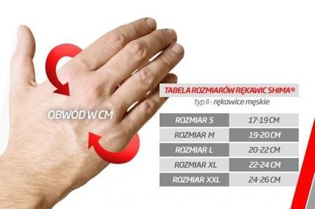 Rękawice SHIMA Aviator dark brown