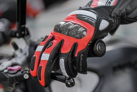 Rękawice SHIMA STR-2 fluo red