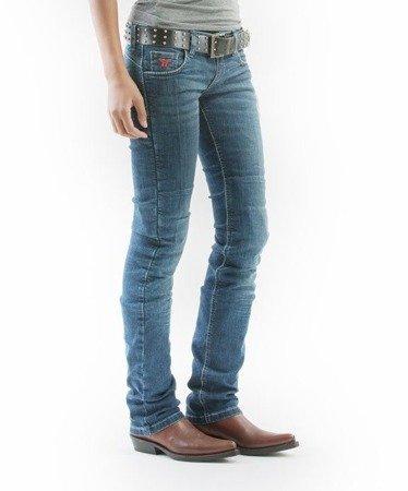 Spodnie damskie jeans MOTTOWEAR KIRA X