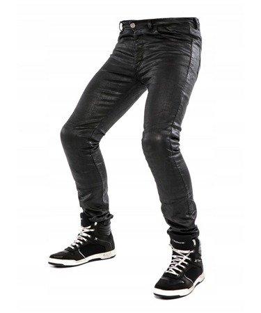 Spodnie męskie jeans CITY NOMAD Jim Wax black