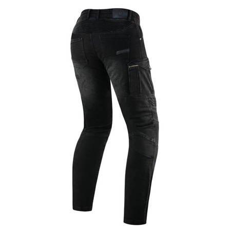 Spodnie męskie jeans REBELHORN Vandal Denim Black