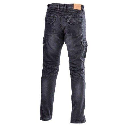 Spodnie męskie jeans SECA SQUARE black