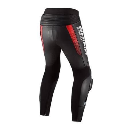 Spodnie skórzane SHIMA STR 2.0 red