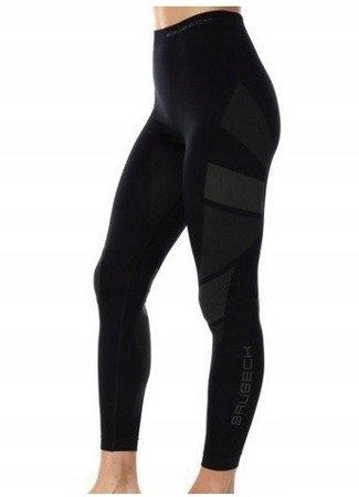 Spodnie termoaktywne BRUBECK Dry black damskie