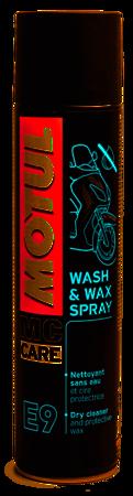 Środek do czyszczenia i ochronny MOTUL E11 Wash & Wax Spray 400ml