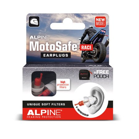 Stopery do uszu ALPINE MotoSafe Race