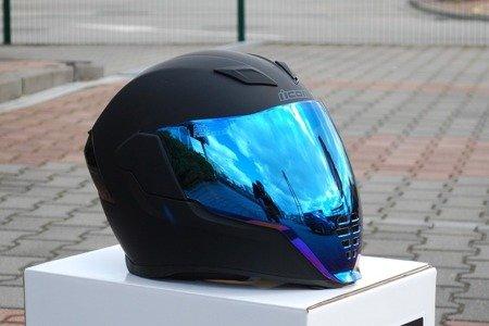 Wizjer do kasku ICON AIRFLITE blue mirror