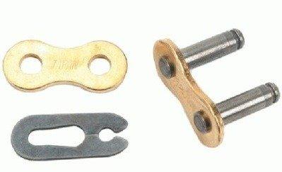 Zapinka łańcucha DID 520ERT2-RJ złoty klips