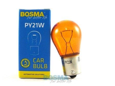 Żarówka Bosma BA15S 12V 21W orange